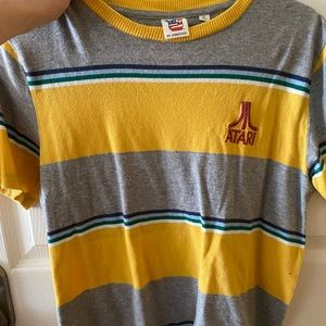 Atari short sleeved crop top